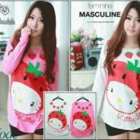 Hello Kitty Strawberry (Long Sleeves)