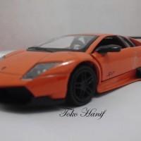 Diecast Miniatur Replika Lamborghini Murcielago