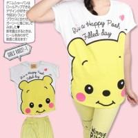 Cute Winnie The Pooh (Setelan)