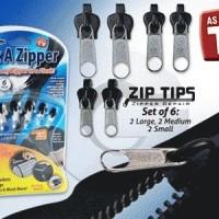 Fix A Zipper, Instant Zipper (Resleting Instant) untuk pengganti yang Rusak !!!