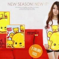 Winnie The Pooh White (Lengan Panjang)