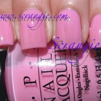 OPI - I Think In Pink
