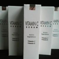 Serum Vitamin C Dan E Silver ORIGINAL.BerHOLOGRAM(Segel Luar Dalam)Dgn Parfum Herbal Dan Vitamin C Paling Stabil