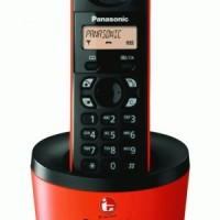 Telpon Telepon Telephone Wireless Panasonic KX-TG1311 Cordless Phoneal  DECT Caller ID Handphone Phonebook