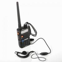 Radio HT Handy Talkie Baofeng UV-5R Dual Band UHF-VHF FM Ham Radio + Earpiece