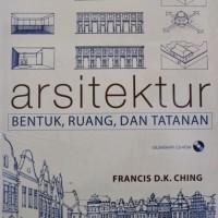 Buku Arsitektur: Bentuk, Ruang dan Tatanan Edisi 3