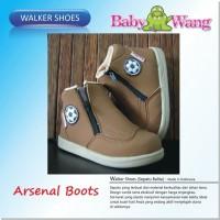 SEPATU BABY WANG - ARSENAL BOOTS