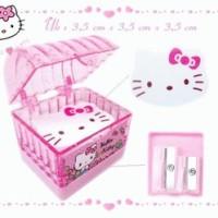 Rautan2Model+Eraser Hello Kitty Box Glitter