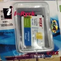 Baterai Vizz - BL-4B 1850 mAh Khusus Nokia N6111,N76,N5000,dll