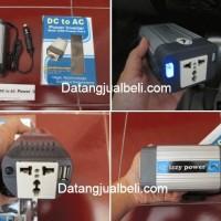 harga Inverter Listrik Mobil Dc Ac Charger Mobil Izzy 150 Watt Aluminium Tokopedia.com