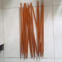 Frame Tenda -  0.8cm Aluminum alloy golden total length 350cm(3.5M) Tent pole