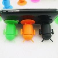 Harga penyangga ponsel gadget berbentuk robot | antitipu.com