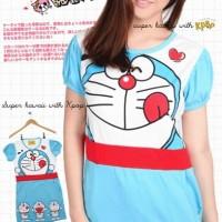 Triple Doraemon Dress