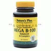 8332A - Suplemen nutrisi vitamin mineral Nature Plus Mega B-100 Balanced B-Complex isi 60