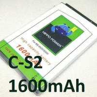 Battery/Baterai Blackberry (BB) Hippo Double Power C-S2 1600mAh (Gemini / Aries / Kepler)