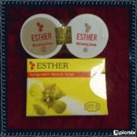 Paket Cream ester SM / cream esther whitening S-M Original
