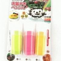 Food Drawing Pen ( isi 3 pcs )