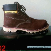 Caterpillar Safety Dark Brown