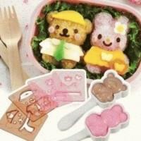 Jual Rice Mold - Set Bear Rabbit Arnest with cutters Murah