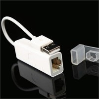USB LAN Ethernet Adapter for Apple MacBook Air USB male to RJ45 female