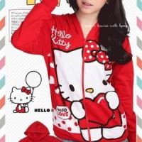 Jaket Hello Kitty Big Heart