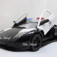 Diecast Miniatur Replika Lamborghini Police