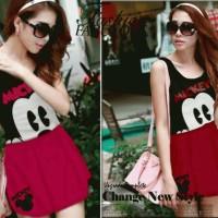 Mini Dress Mickey Mouse