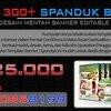 DVD 1300+ Desain Spanduk,banner Dan X Banner Highress (Editable)