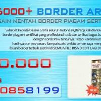 DVD Koleksi Desain Border Vector Editable (sertifikat,piagam,ijazah dll)