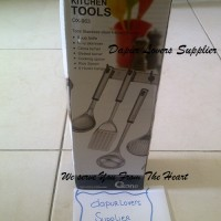 Jual OX-963 Oxone Stainless Steel Kitchen Tool (Centong, Sutil Stainless Steel) Murah