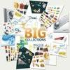 Kumpulan Vektor Iklan, Brosur, Kartu Nama, Background, Icon, Banner, Desain Web, T-Shirt, Billboard, Wedding Card, dll