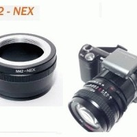 Adapter Lensa M42 to SONY NEX E-mount Lens Adapter Flange Version