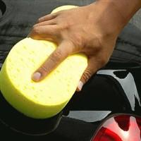 Spons Pembersih Mobil Berbentuk Angka 8