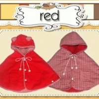BABY CAPE RED