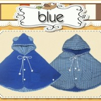 BABY CAPE BLUE