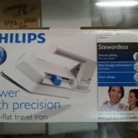 Setrika portabel (portable) untuk bepergian (travel iron) (Dry Iron) Philips HD1301