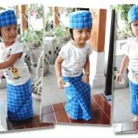 Sarung Praktis Balita Java 1 ( plus peci ) size L