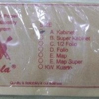 Misc Brand - Brown Envelop (amplop cokelat) Size Cabinet