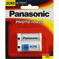 Battery - Panasonic - 2CR5