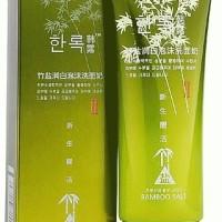 Bamboo Salt Whitening Cleansing Gel By Hanlu Korean Cosmetics