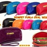 DOMPET HPO FURLA OVAL JELLY SUPER