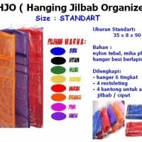 HJO Hanging Jilbab Organizer