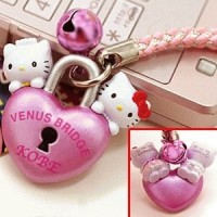 Sanrio Hello Kitty Venus bridge Cell Phone Strap