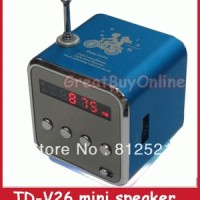 Speaker Mini Media Player Music Angel TD-V26