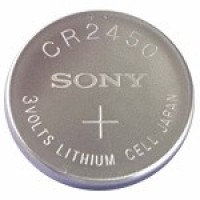 Button Cell - Sony - Battery CR2450