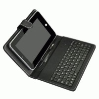 """LEATHERCASE KEYBOARD 7"""" ANDROID"""