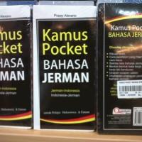 Kamus Pocket Bahasa Jerman / Kamus Saku / Buku