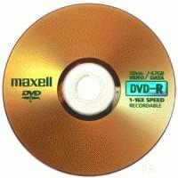 DVD-R 16X MAXELL