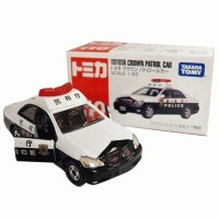 Tomica Series no 110 Toyota Crown patrol car