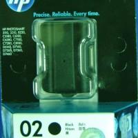 HP Ink Cartridge HP 02 Black
